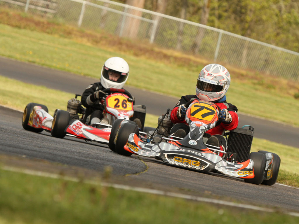 a personal recount of go kart racing